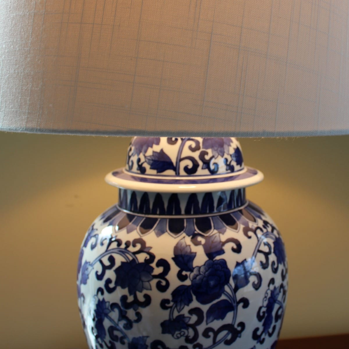 Blue and White Lamps for My Bedroom