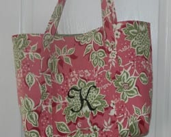 Pretty and Practical Tote Bag