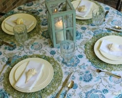 Front Porch Tablescape