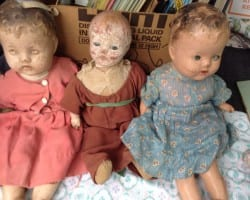A Creepy Doll Collection