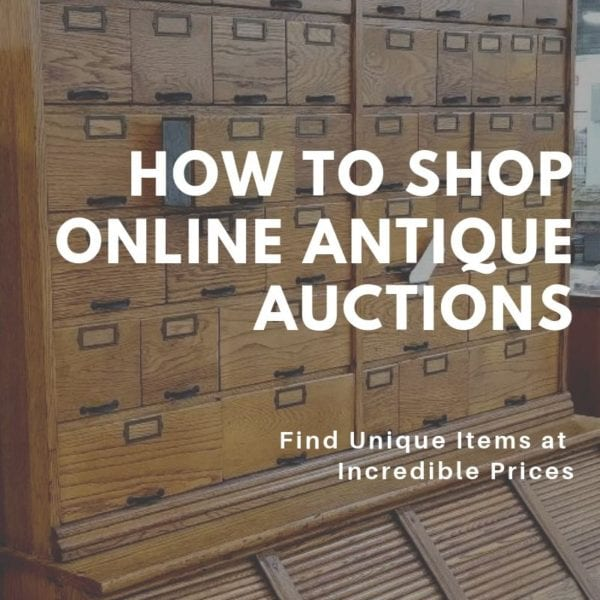 How To Shop Online Antique Auctions Southern Style Southern Charm